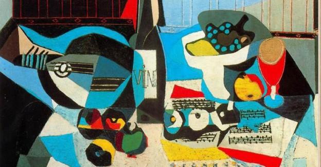 vino y arte en el cuadro de pablo picasso la botella de vino