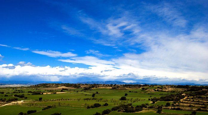 Una fotografía de la comarca del Somontano.