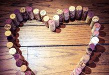 Representación de cómo el vino es saludable