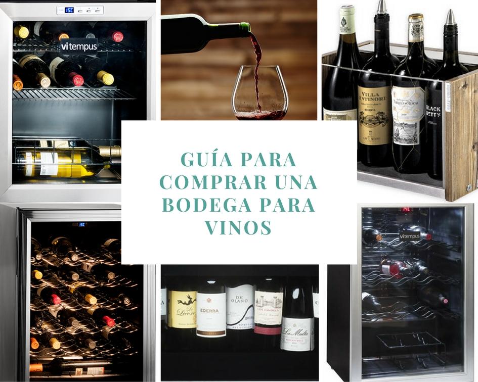 C mo comprar un armario bodega para vinos vitempus - Como montar una vinoteca ...